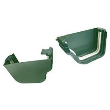 DLS GUTTER END CAP SET GREEN